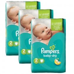 Giga Pack 126 couches Pampers Baby Dry