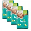 168 Couches Pampers Baby Dry taille 2 sur Sos Couches