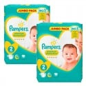 136 Couches Pampers new baby - premium protection taille 2 sur Sos Couches