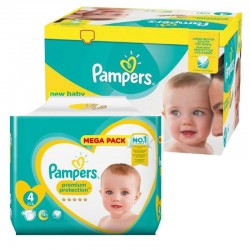 117 Couches Pampers new baby - premium protection taille 4