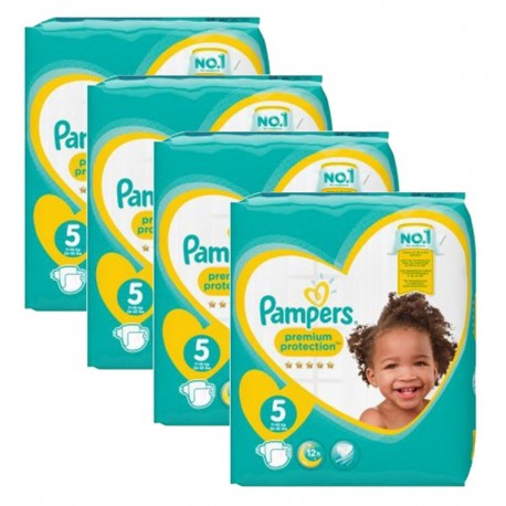 240 Couches Pampers new baby - premium protection taille 5 sur Sos Couches