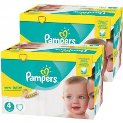 585 Couches Pampers new baby - premium protection taille 4