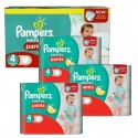 376 Couches Pampers Baby Dry Pants taille 4 sur Sos Couches