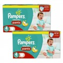 564 Couches Pampers Baby Dry Pants taille 4 sur Sos Couches