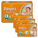 252 Couches Pampers Sleep & Play taille 4 sur Sos Couches