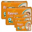 324 Couches Pampers Sleep & Play taille 4 sur Sos Couches