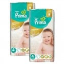 60 Couches Pampers Premium Care - Prima taille 4 sur Sos Couches