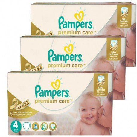 420 Couches Pampers Premium Care - Prima taille 4 sur Sos Couches