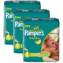 132 Couches Pampers Baby Dry taille 6 sur Sos Couches