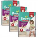64 Couches Pampers Active Fit - Pants taille 6 sur Sos Couches