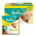 96 Couches Pampers New Baby Premium Protection taille 1 sur Sos Couches