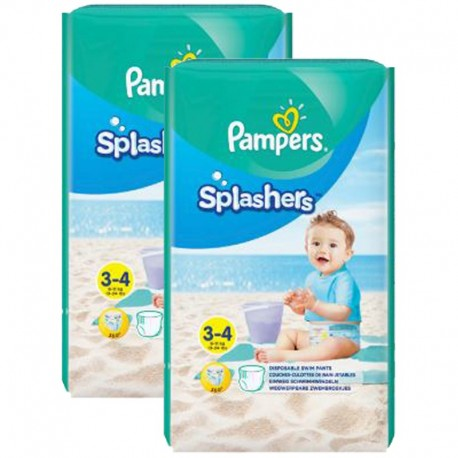 36 Couches de bains Pampers Splashers taille 3 sur Sos Couches
