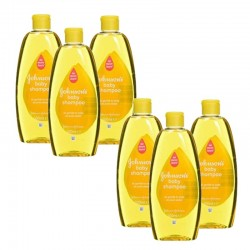 Pack de 6 Shampooings doux bébé Johnson 300 ml