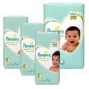 102 Couches Pampers New Baby Premium Care taille 4 sur Sos Couches