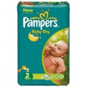 41 Couches Pampers Baby Dry taille 2 sur Sos Couches