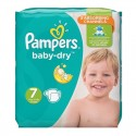 30 Couches Pampers Baby Dry taille 7 sur Sos Couches
