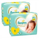 60 Couches Pampers New Baby Premium Care taille 0 sur Sos Couches