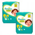 111 Couches Pampers New Baby Premium Protection taille 6 sur Sos Couches