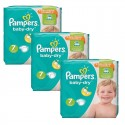 120 Couches Pampers Baby Dry taille 7 sur Sos Couches