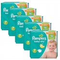 210 Couches Pampers Baby Dry taille 7 sur Sos Couches