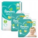 232 Couches Pampers Baby Dry taille 7 sur Sos Couches