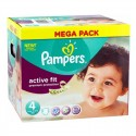 82 Couches Pampers Active Fit - premium protection taille 4 sur Sos Couches