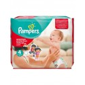 184 Couches Pampers Easy Up taille 4 sur Sos Couches