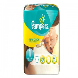 56 Couches Pampers New Baby 1