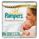 440 Couches Pampers Premium Care taille 1 sur Sos Couches