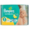 21 Couches Pampers New Baby Dry taille 2 sur Sos Couches