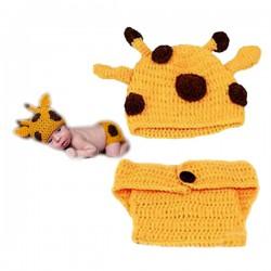 Premier ensemble nouveaux nés Choupinet Girafe taille 0-12Mois