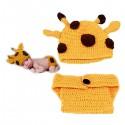 Premier ensemble nouveaux nés Choupinet Girafe 0-12Mois sur Sos Couches