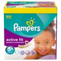 240 Couches Pampers Active Fit taille 5+ sur Sos Couches