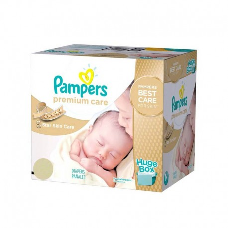 704 Couches Pampers Premium Care taille 1 sur Sos Couches