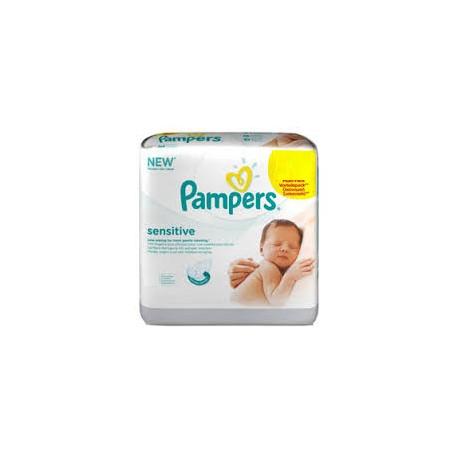 Achat 288 lingettes b b pampers sensitive sur sos couches - Couches pampers sensitive ...