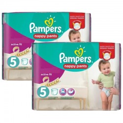 210 Couches Pampers Active Fit Pants