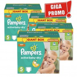 290 Couches Pampers Active Baby Dry