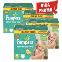 290 Couches Pampers Active Baby Dry sur Sos Couches