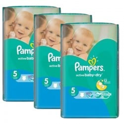 580 Couches Pampers Active Baby Dry