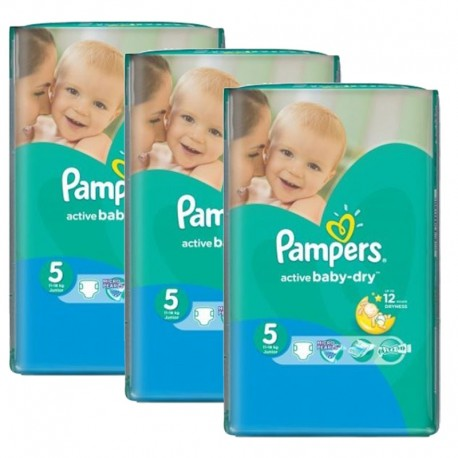 580 Couches Pampers Active Baby Dry sur Sos Couches