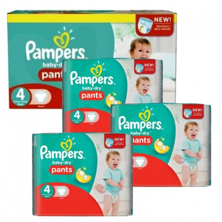 609 Couches Pampers Baby Dry Pants taille 4 sur Sos Couches