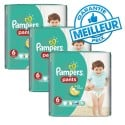 322 Couches Pampers Baby Dry Pants taille 6 sur Sos Couches