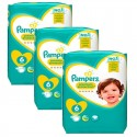228 Couches Pampers New Baby Premium Protection taille 6 sur Sos Couches