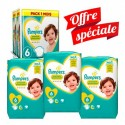 304 Couches Pampers New Baby Premium Protection taille 6 sur Sos Couches
