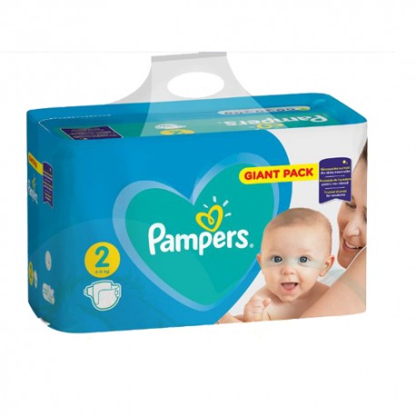94 Couches Pampers Active Baby Dry taille 2 sur Sos Couches