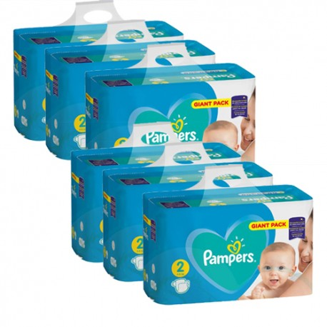 564 Couches Pampers Active Baby Dry taille 2 sur Sos Couches