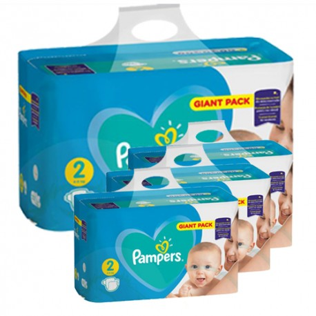 658 Couches Pampers Active Baby Dry taille 2 sur Sos Couches