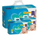 752 Couches Pampers Active Baby Dry taille 2 sur Sos Couches