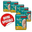 864 Couches Pampers New Baby Dry taille 2 sur Sos Couches