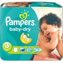 348 Couches Pampers Baby Dry taille 3 sur Sos Couches